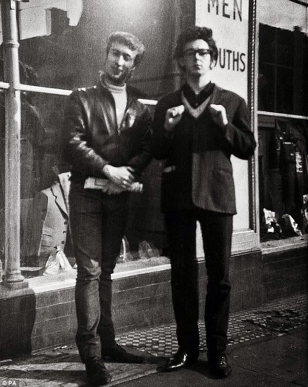 John Lennon And Paul McCartney Reading April 1960