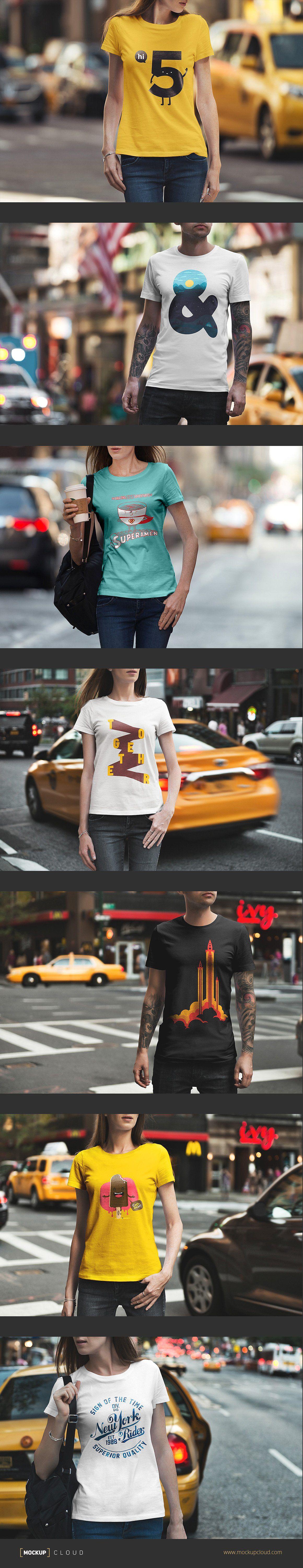 Download T Shirt Mockup Urban Edition Shirt Mockup Tshirt Mockup Female Models