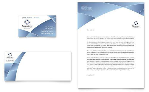 Nursing school hospital business card letterhead template nursing school hospital business card letterhead template letterhead examples letterhead design company letterhead wajeb Gallery