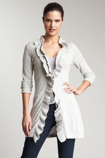 Pretty cardigan for spring/summer layers