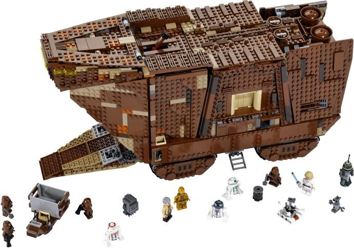 NEW LEGO STAR WARS SANDCRAWLER UCS TREADWELL DROID FIGURE GIFT 75059-2014