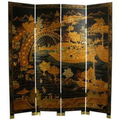 Seven Ingenious Ideas To Divide Your Living Room Shoji Screen Room Divider Oriental Furniture 4 Panel Room Divider