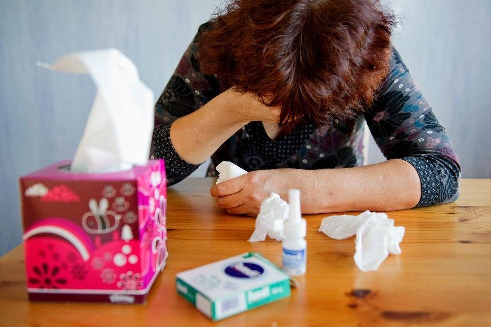 Nu är influensan som värst - Smålänningen