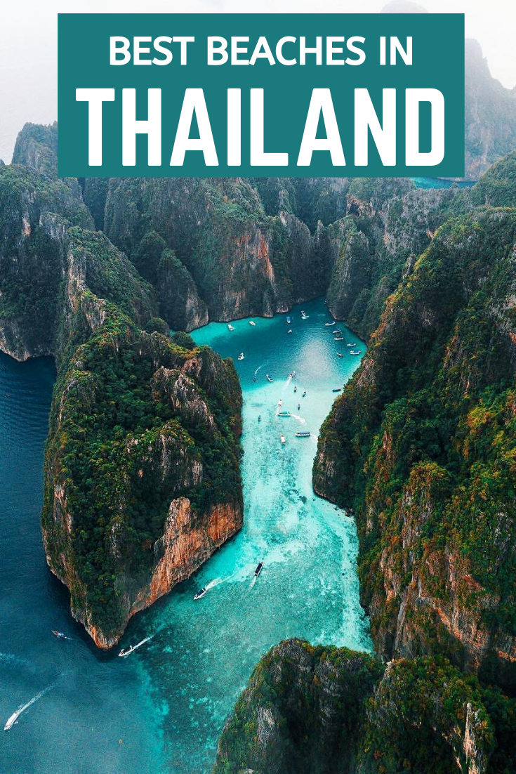 Complete guide to the best paradise beaches in Thailand you must visit. Top of the most popular and beautiful beaches in Thailand. Thailand's must-visit beaches.  #thailand #thailandbeaches #thailandvacation #thailandtravel #thailandbestbeaches #thailandparadisebeaches #mustvisitbeachesthailand #thaibeaches