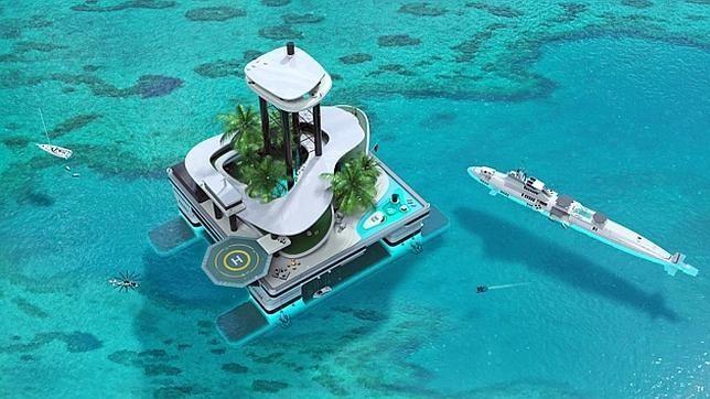 Las lujosas islas privadas que puedes llevarte donde quieras. Kokomo Ailand