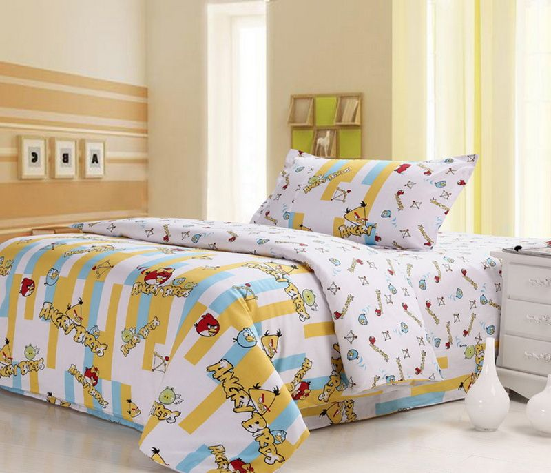 Angry Birds White Angry Birds Bedding Set