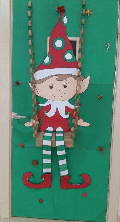 Sınıf Kapımız Door Decoration Kapı S 252 Sleri Christmas