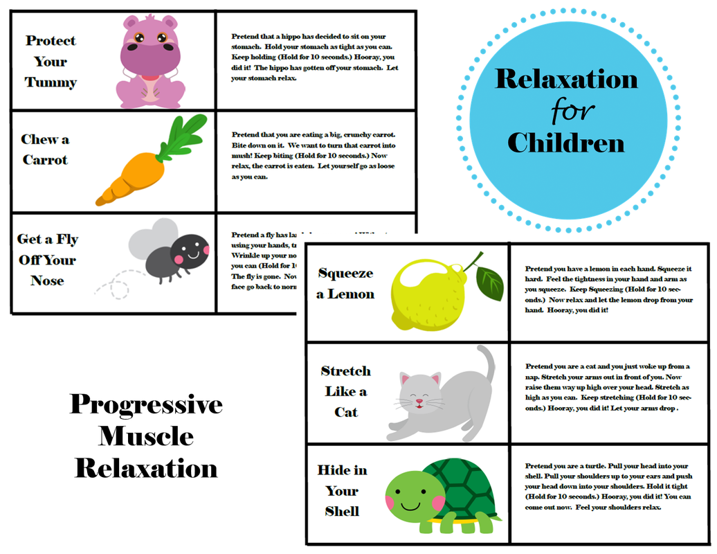 Relaxation For Children Progressive Muscle Relaxation