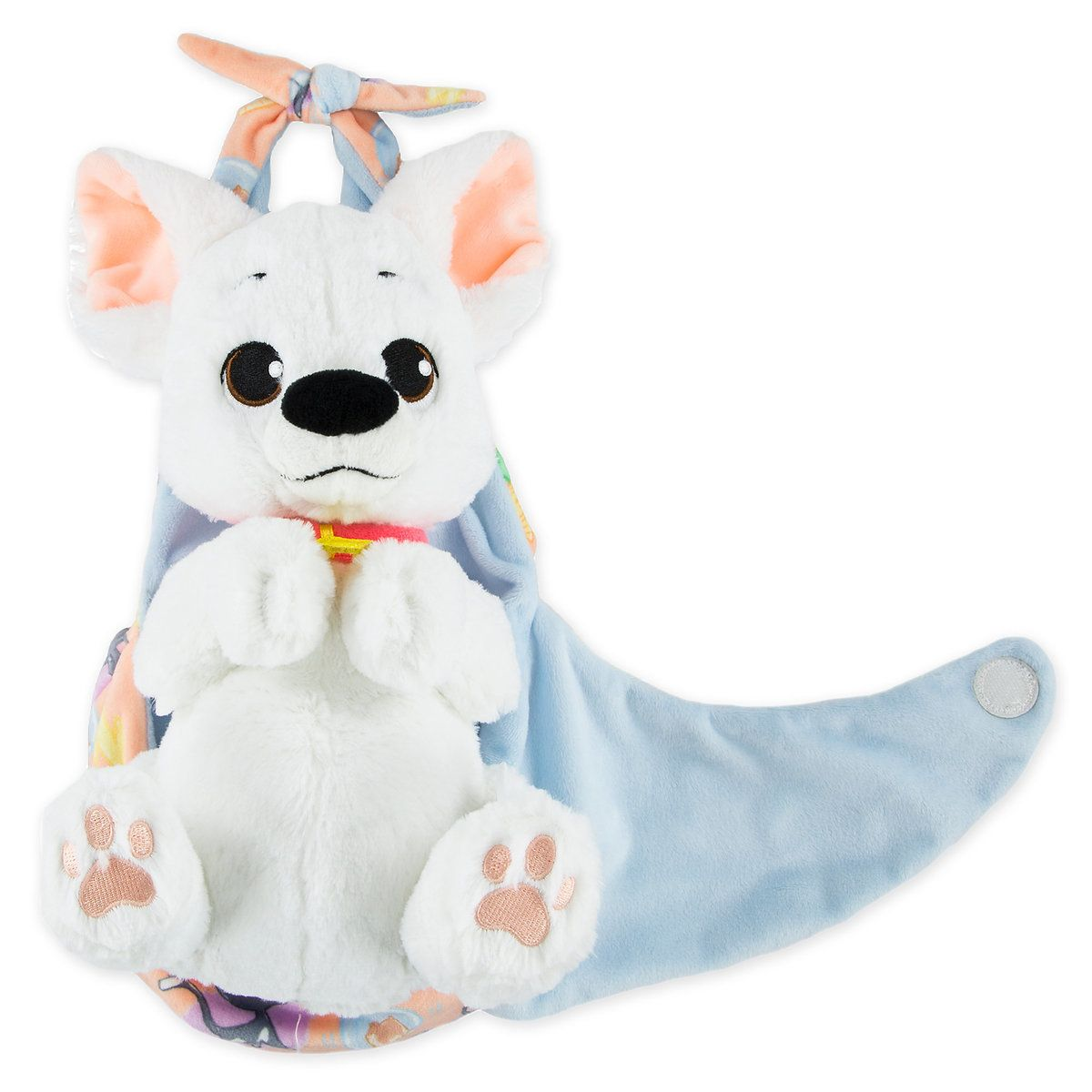 Bolt Plush With Blanket Pouch Disneys Babies Small Wish List