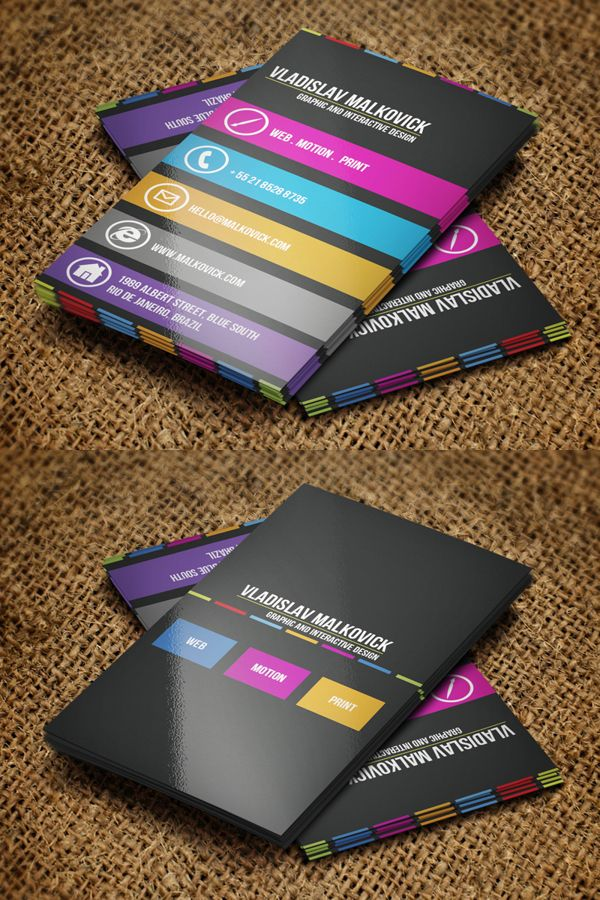 Creative Business Cards Design - 11 | Graphic Design: Business Cards ...