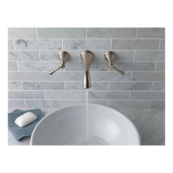 Delta Cassidy Wall Mount Faucet | Rejected bathroom ideas for willow ...
