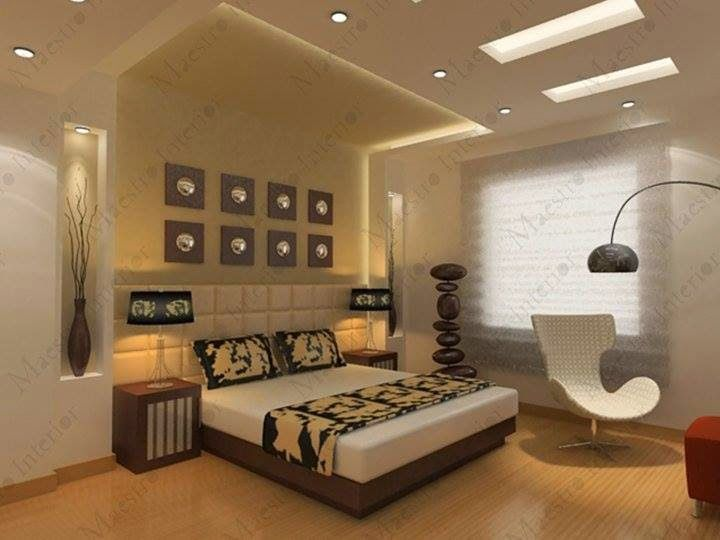 Gypsum Board decor | False ceiling bedroom, False ceiling ...