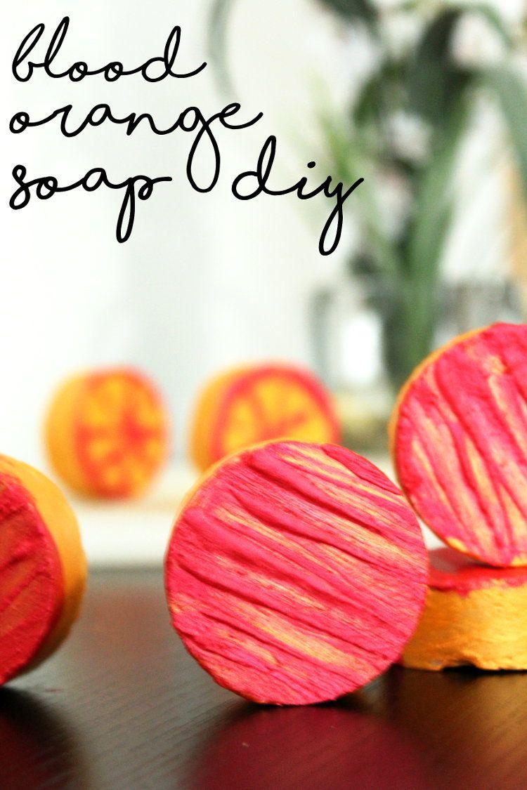 Blood Orange Soap Recipe with Blood Orange Essential Oil