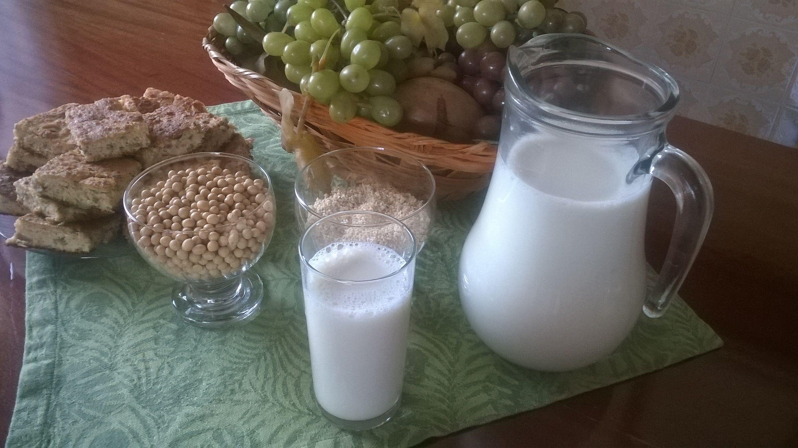 Leite de Soja Caseiro,prático e gostoso!