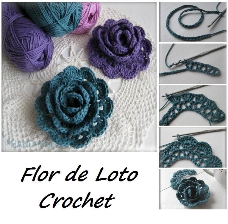 Patrones crochet gratis tejer como terapia aprender a - Hacer flores de ganchillo ...