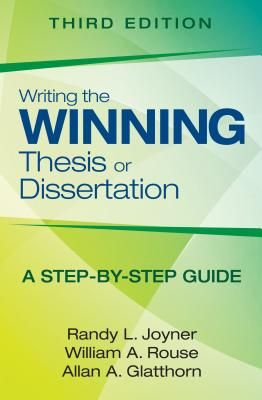Thesis vs dissertation 3rd edition