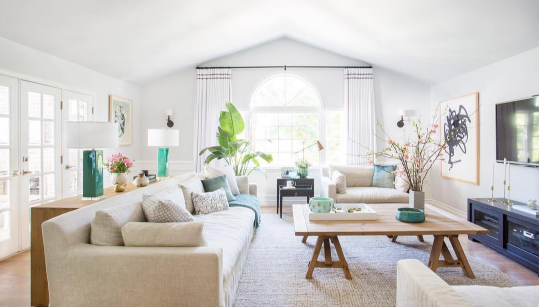 7 tips on decorating your lounge room for LESS | Coastal living ...