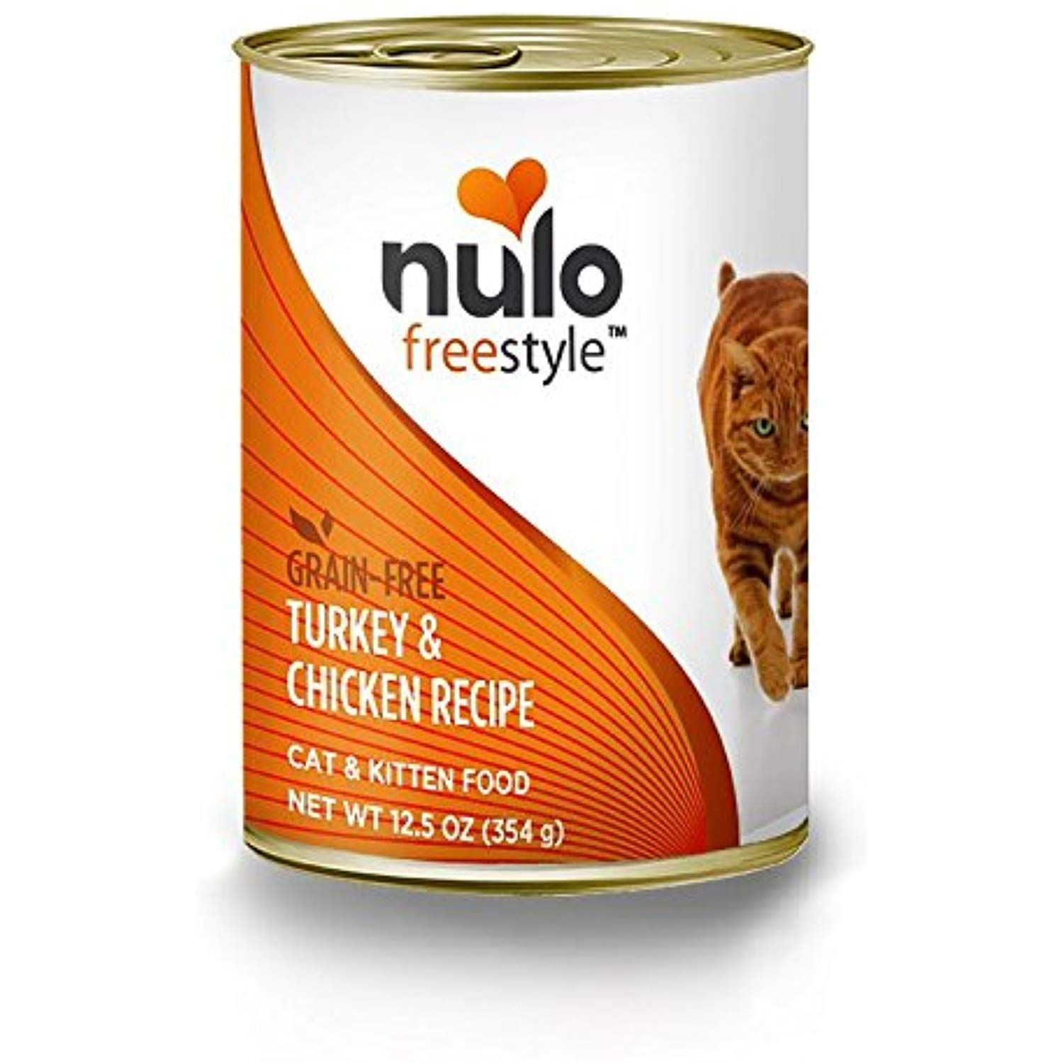 Nulo Grain Free Canned Wet Cat Food (Turkey and Chicken