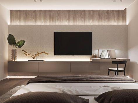 Tv Unit Design Bedroom 2 Jpg Bedroom Layouts Modern Room Bedroom Design Bedroom design tv wall