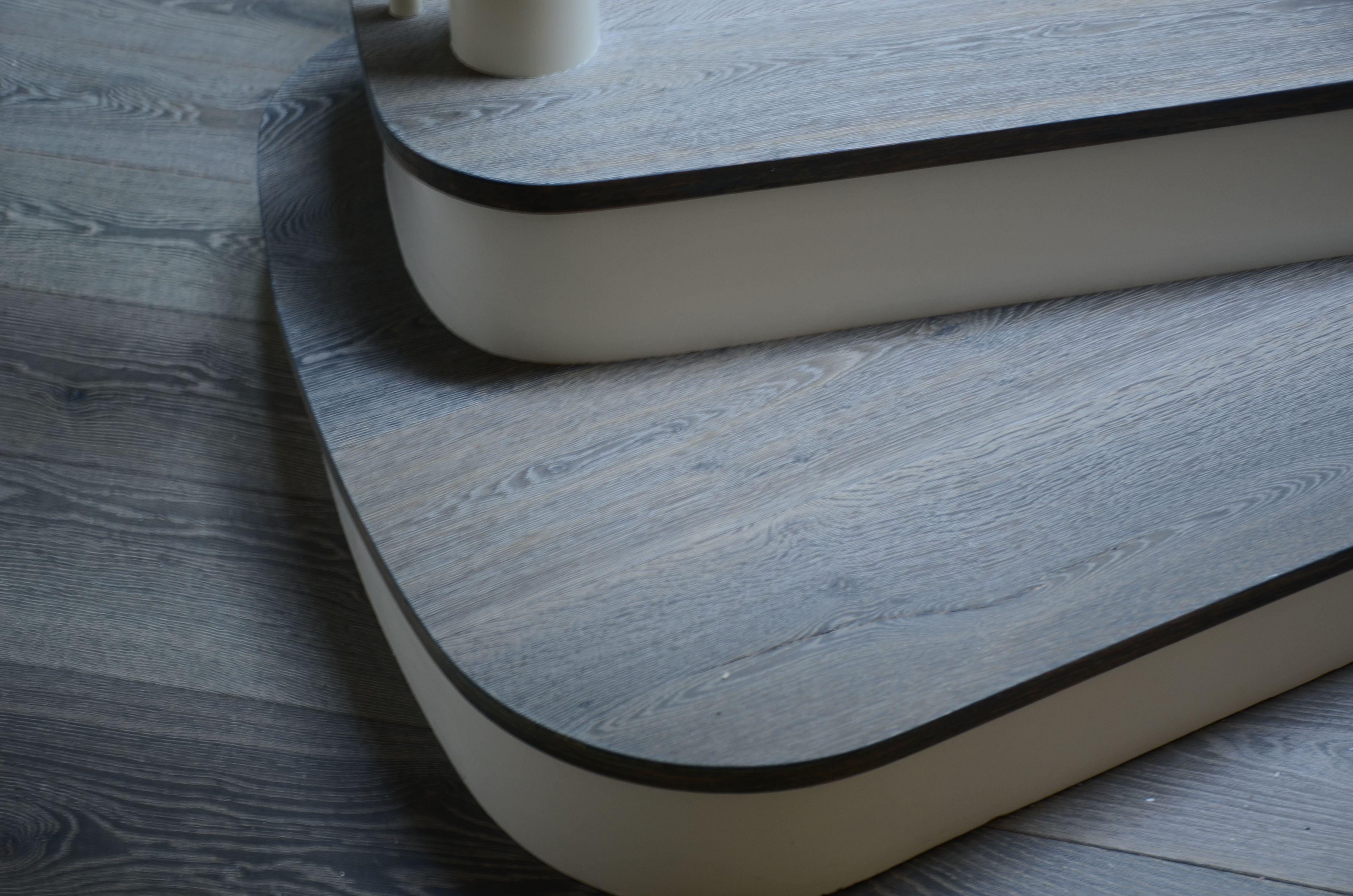 Best European Oak Curved Stair Treads In Bespoke Finish 400 x 300