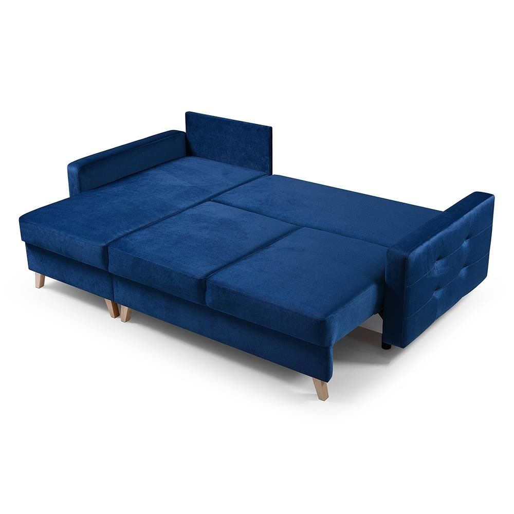 Vegas Navy Blue Sectional Sofa In 2020 Sectional Sofa Blue Sectional Navy Blue Sectional