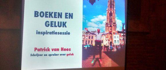 Geluk is dom - Patrick van Hees - boekpresentatie Dom te Utrecht.