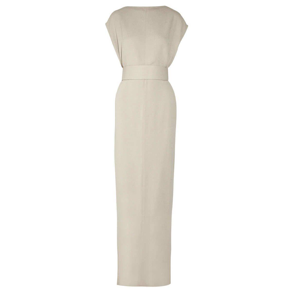 Rick Owens Plain Dagger silk-crepe gown, $3,197 | Dynamite Dresses ...
