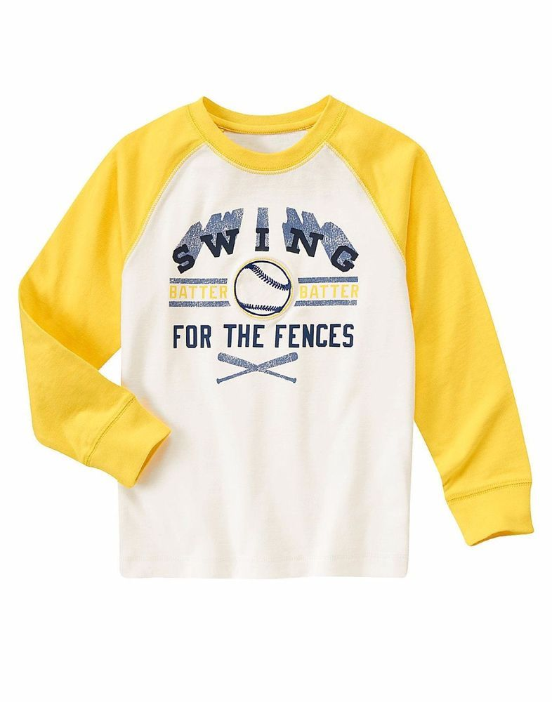 Gymboree Baby Boys Long Sleeve Graphic Tee