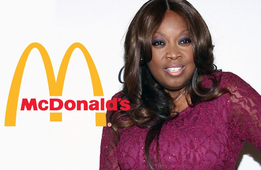 10 Celebrities Who Have Worked in Fast Food  N2- Star Jones at McDonald's