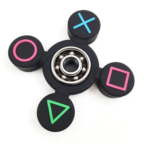 PS4 Button Hand Spinner Silicon Buy Now s