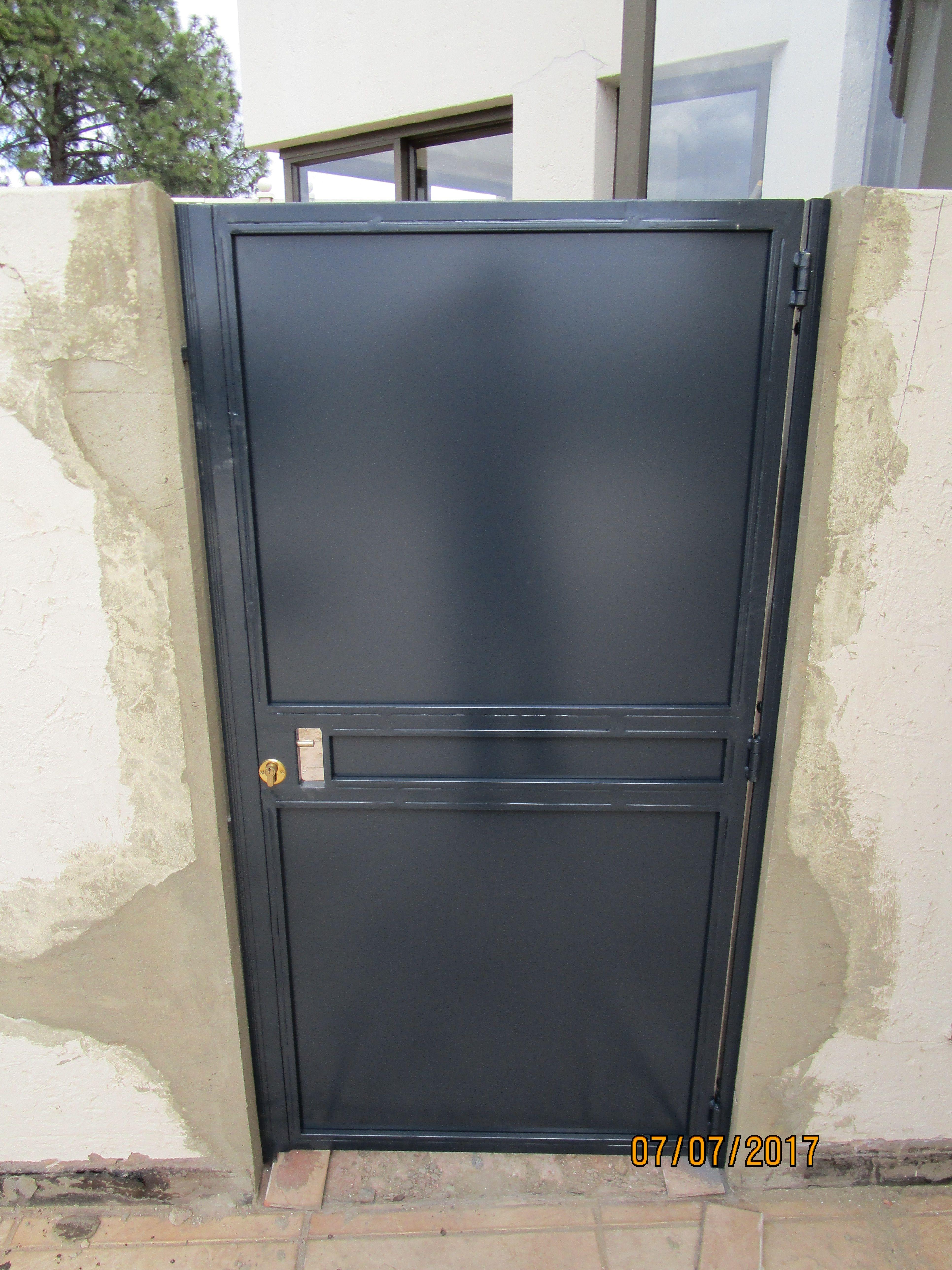 Robo Door offers all your Burglar Proofing needs! Based in Boksburg we build and install Trellis Doors Security Gates Burglar Bars u0026 Security Doors. & Security gates by Robo Door. Charcoal Security Gates. www.robodoor ... pezcame.com