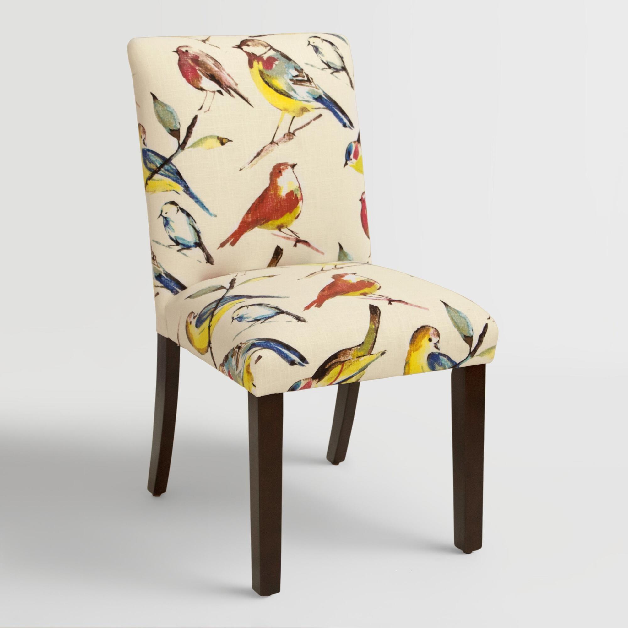 Bird watcher kerri upholstered dining chair upholstered