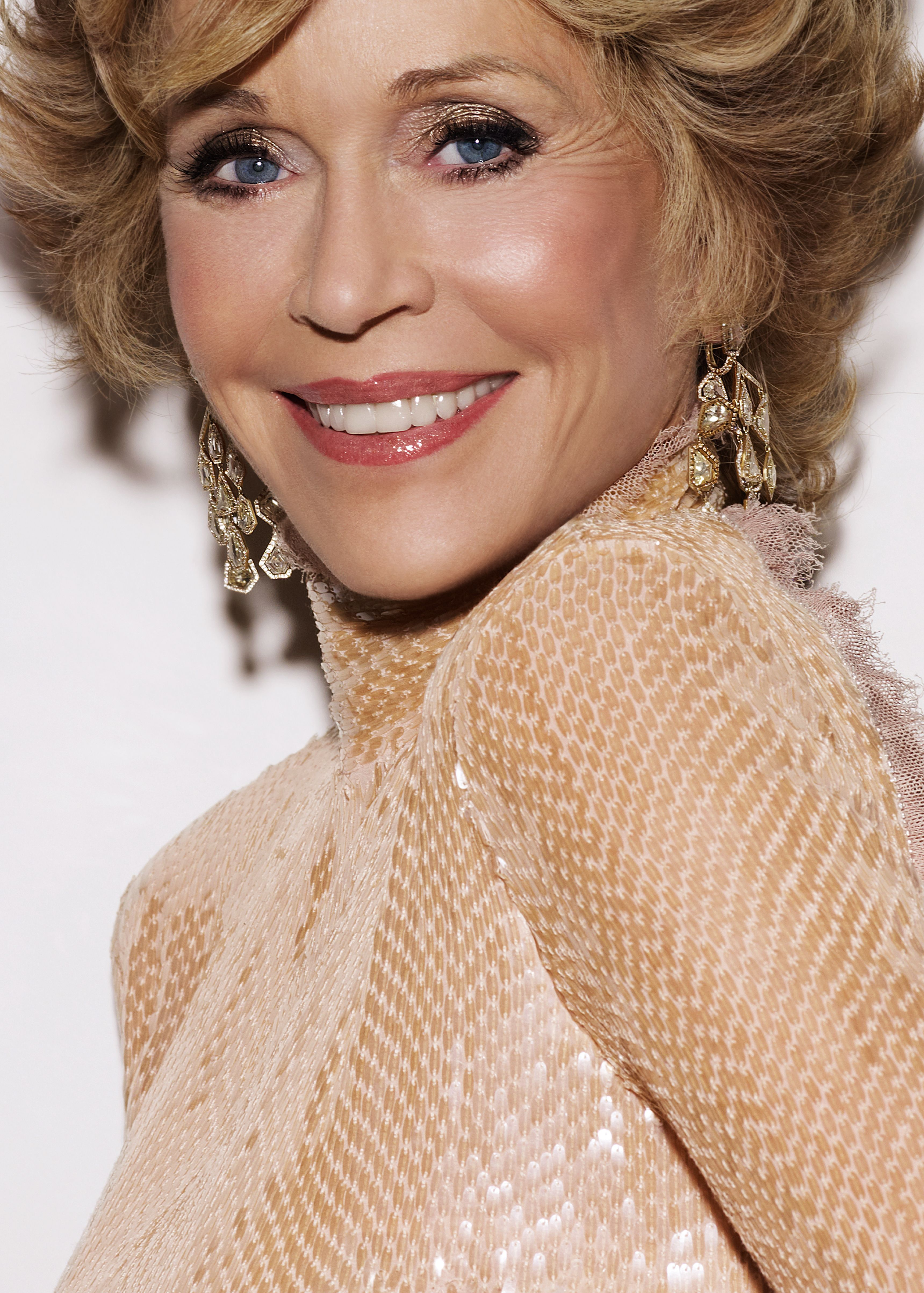 Jane Fonda pour L Oréal Paris