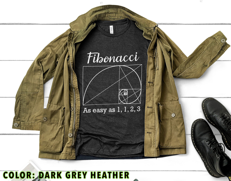 Funny Fibonacci Math T-Shirt, as Easy as 1 1 2 3 Shirt, Funny Math Lover Gift Tees