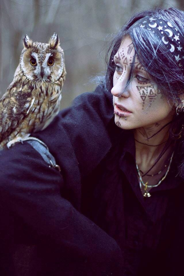 Druid and Her Owl