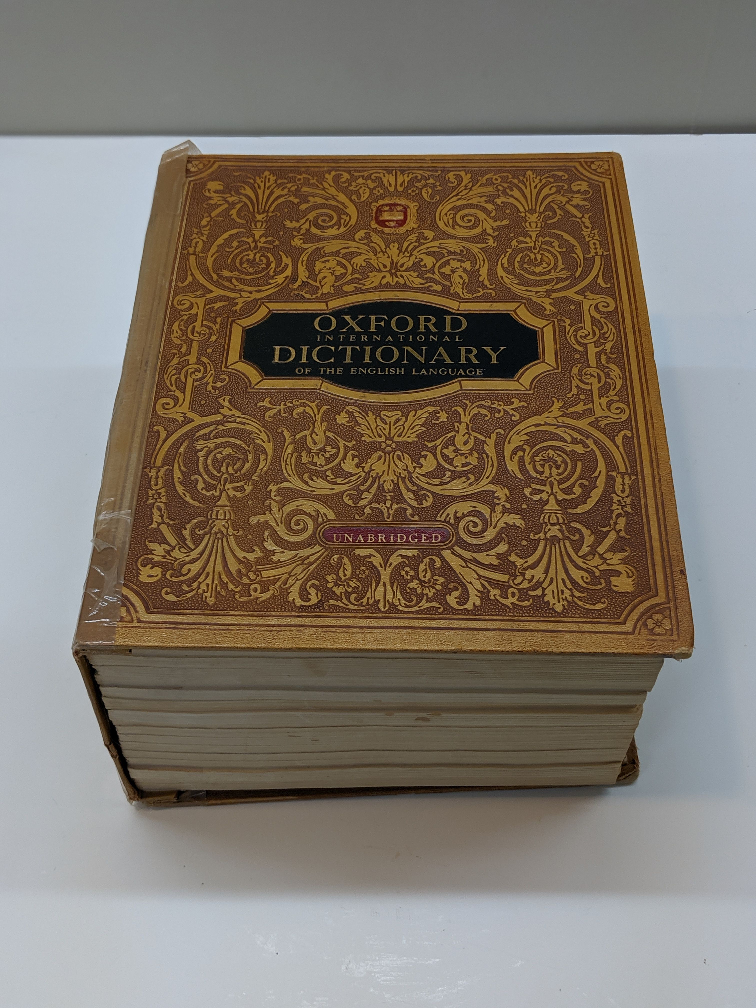 Oxford International Dictionary Of The English Language   English language, Language, Oxford