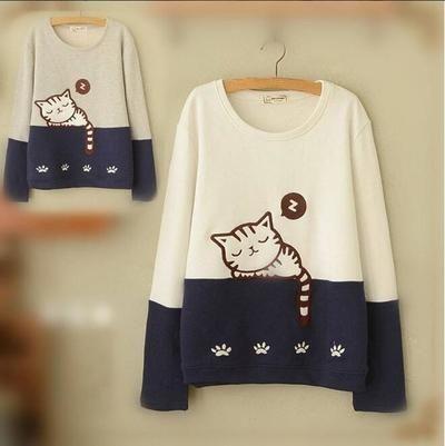 Cute kawaii cat t-shirt from Fashion Kawaii  Japan   Korea ... 814b501bc900