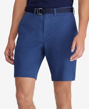 Rustic Navy Blue Polo Ralph Lauren Men/'s Classic-Fit Stretch 9/'/' Shorts