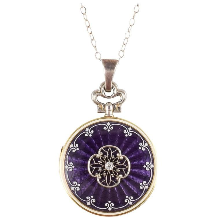 necklace silver round kay pendant hover zm diamond mv purple kaystore to tw cut en zoom sterling ct