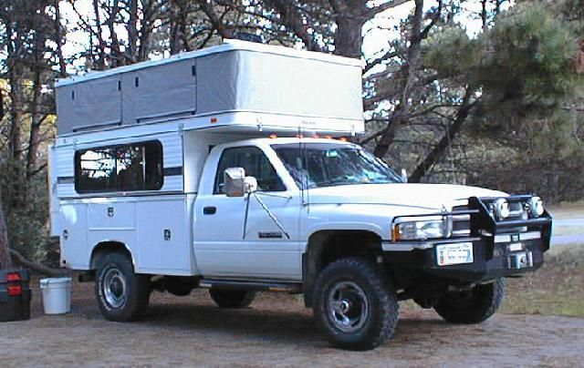 Slide In Camper On A Utility Bed Pirate4x4 Com 4x4 And Off