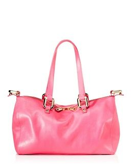 pink leather juicy bag  4fcb4e7519