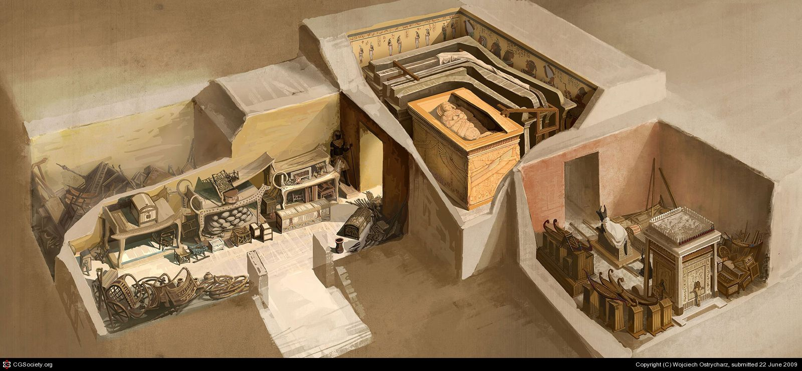 archeologists discovered king tuts hidden treasure in the unlikeliest of places King tut essay examples  an overview of the life and curse of king tut  archeologists discovered king tut's hidden treasure in the unlikeliest of places.