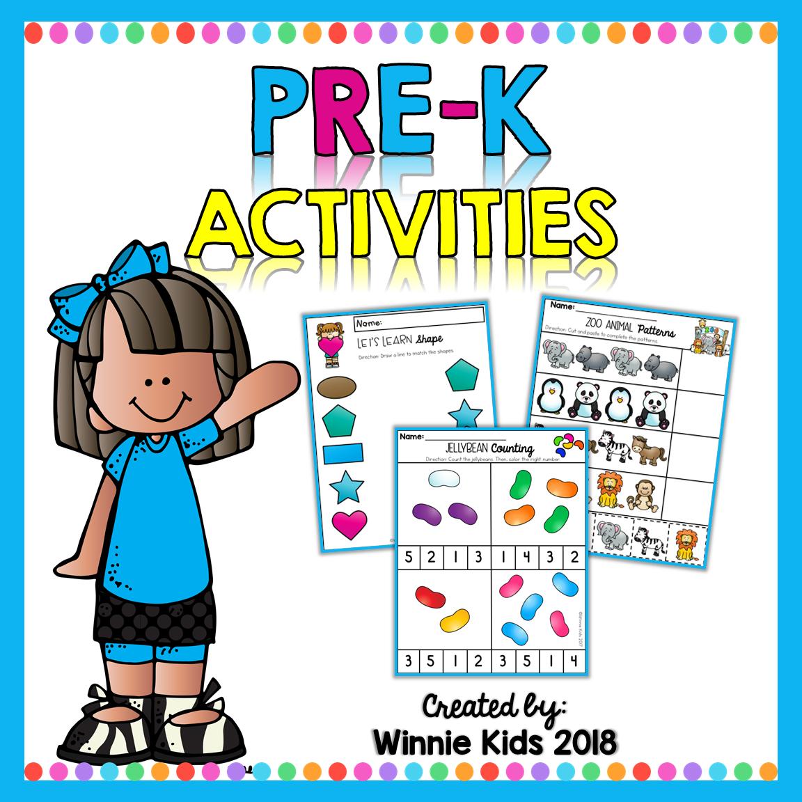 Pre K Activities