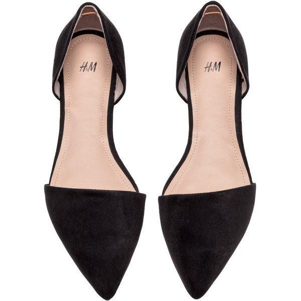 shoes, flat pumps, kohl shoes