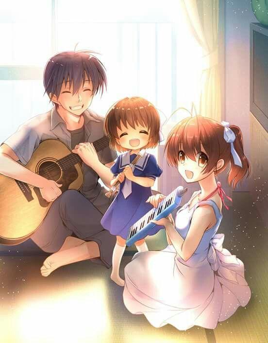 Me Quema Me Duele Me Lastima Clannad Anime Anime Family Anime Clannad anime iphone wallpaper