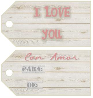 Tags / Labels / Printables Etiquetas Love Wood