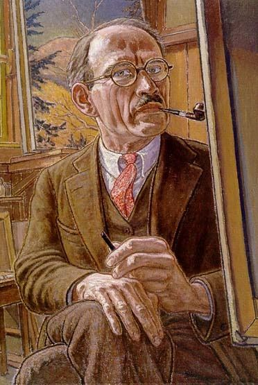 Harold Weston (February 14, 1894 - April 10, 1972) was an influential American modernist painter whose work included impressionism, realism and abstraction, as well as a highly regarded political activist.(self portrait).