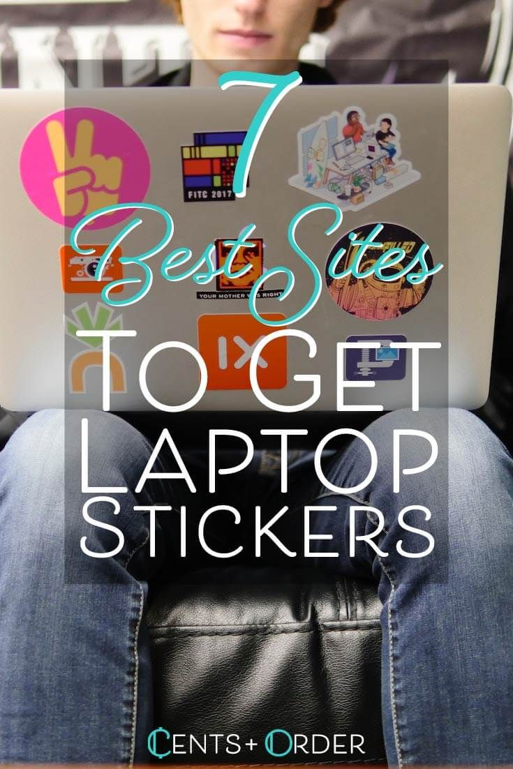 Decorating your laptop is so much fun also best sites to get stickers of cents order rh pinterest