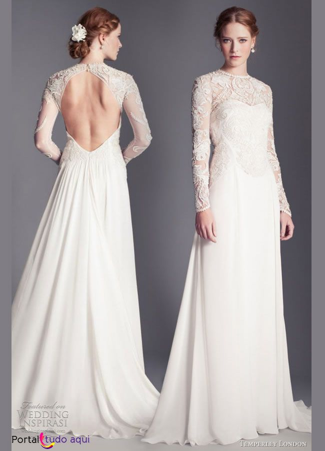 Vestido de noiva inverno 2014