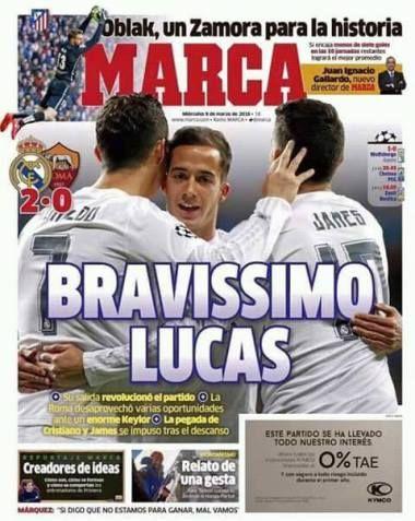 صحف مدريد الاربعاء 9-3-2016
